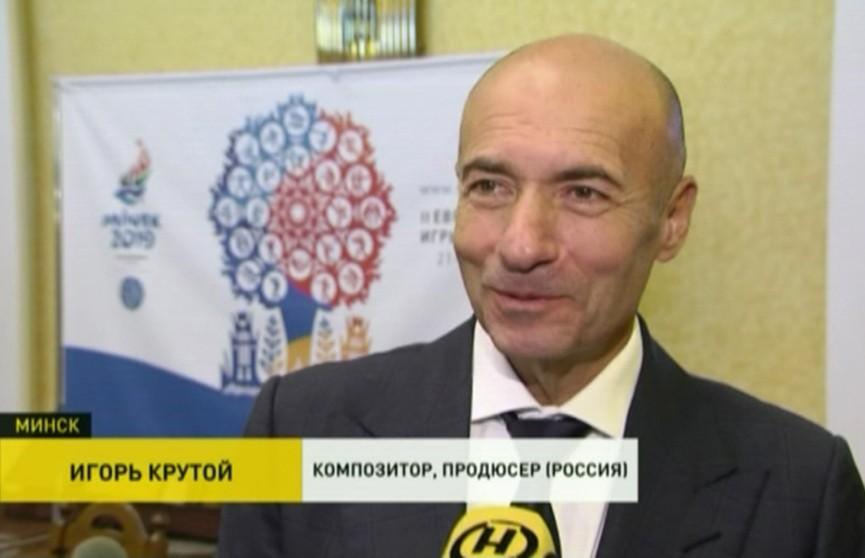 II Европейские игры: компания Игоря Крутого займётся подготовкой церемонии открытия и закрытия