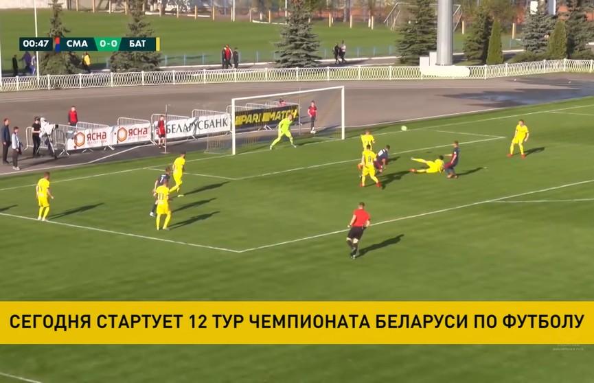 Чемпионат Беларуси по футболу: в турнирной таблице лидирует БАТЭ