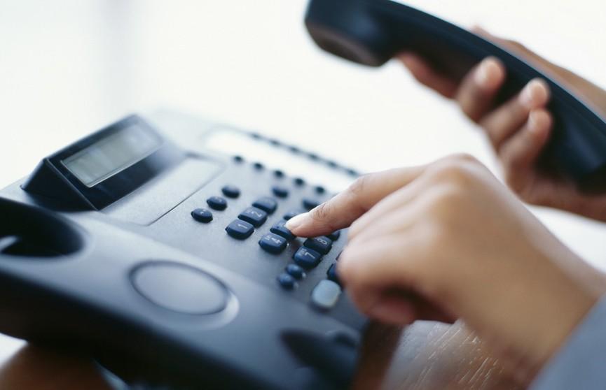 В исполкомах Беларуси сегодня пройдут телефонные линии