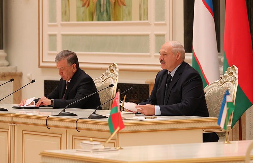 Курс на сотрудничество в промышленности, торговле и IT. Итоги визита президента Узбекистана в Беларусь