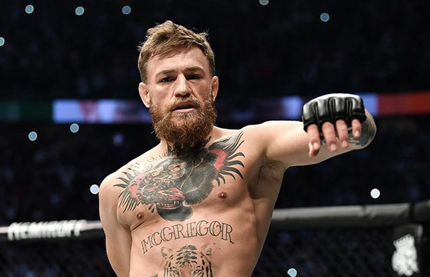 Макгрегор принял предложение UFC и намерен провести бой в 2020 году