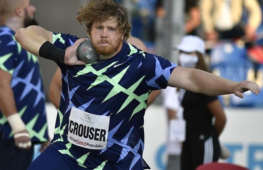 Американец побил 32-летний мировой рекорд в толкании ядра в помещении