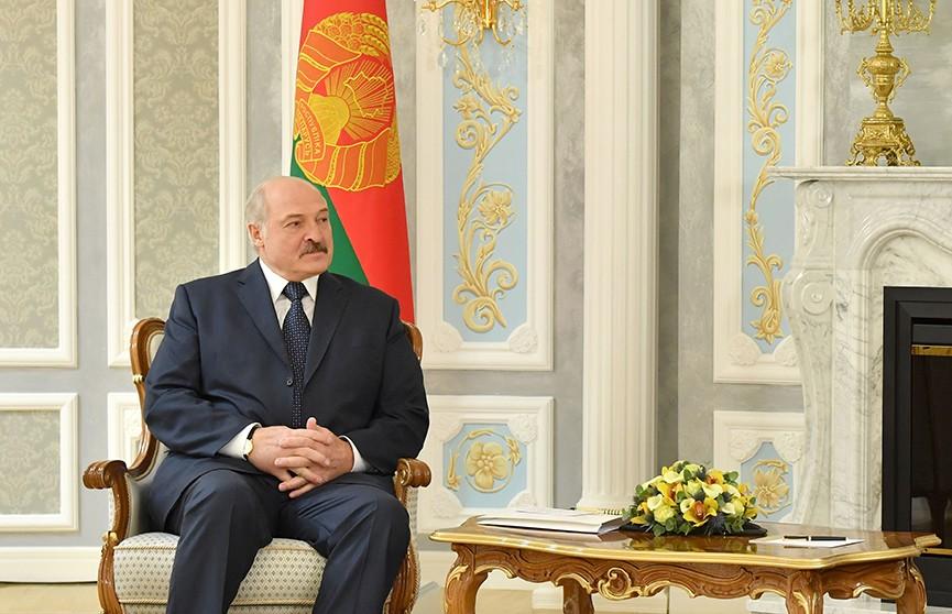 Развитие экономик стран ОБСЕ обсудил Александр Лукашенко с Георгием Церетели