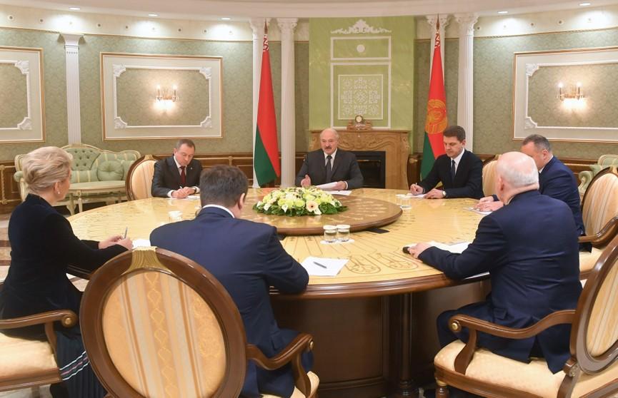 От строительства жилья до развития сельского хозяйства: Лукашенко предложил расширить кооперационные связи Беларуси с Новгородской областью