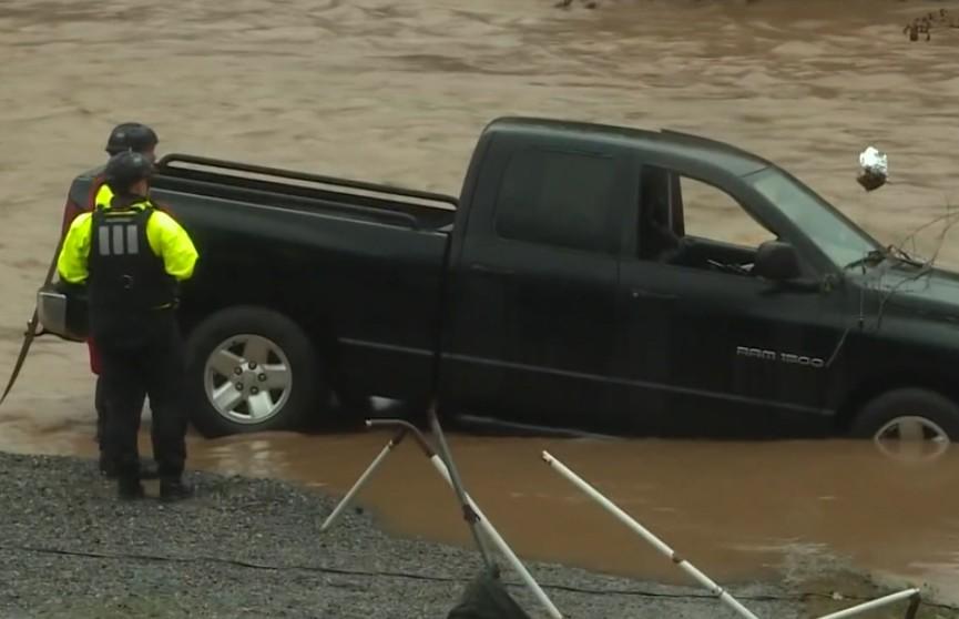 Ливни стали причиной сильного наводнения в Северной Каролине