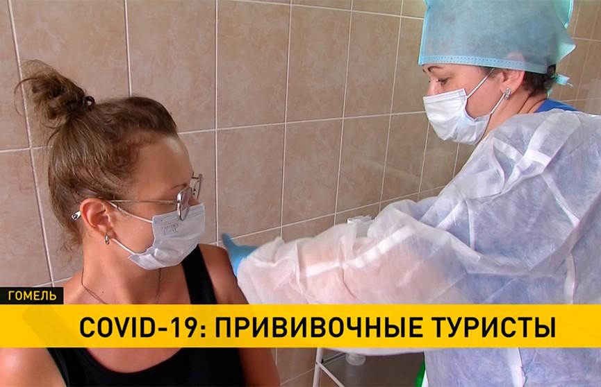Более 100 иностранцев вакцинировались за месяц в Гомельской области