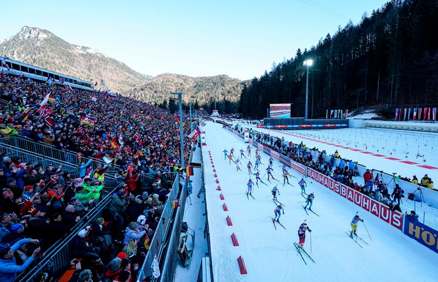 Сборная Беларуси заняла 12 место в женской эстафете на этапе Кубка мира по биатлону в Рупольдинге