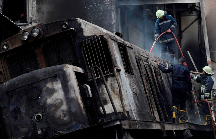Установлена причина железнодорожной катастрофы на центральном вокзале Каира
