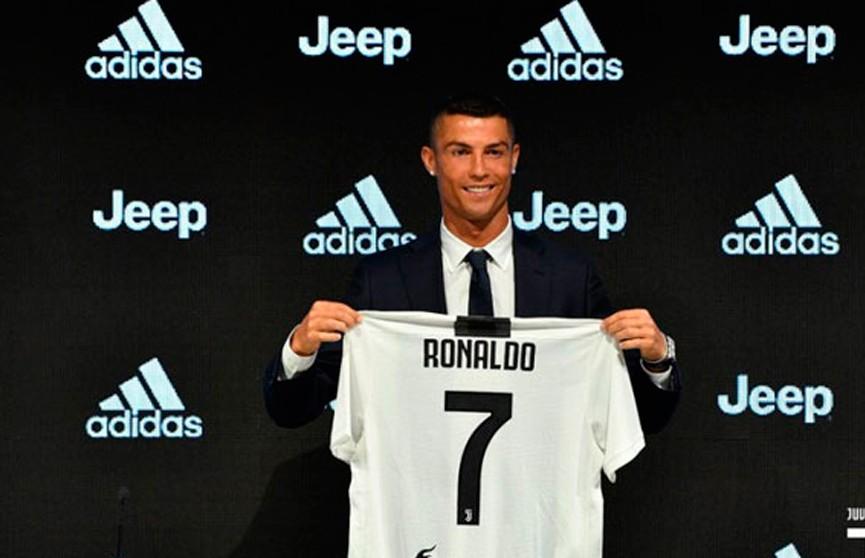 Криштиану Роналду представлен в качестве игрока «Ювентуса»