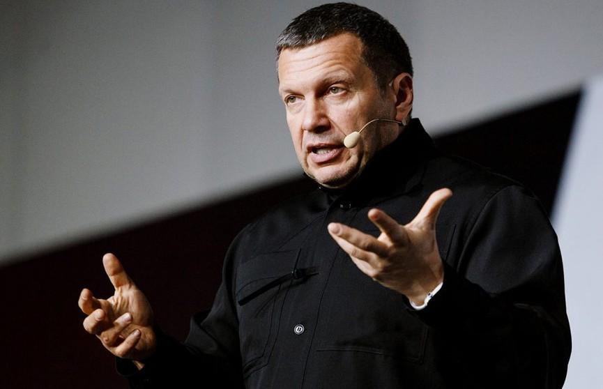Владимир Соловьев прокомментировал радикализацию протеста в Беларуси