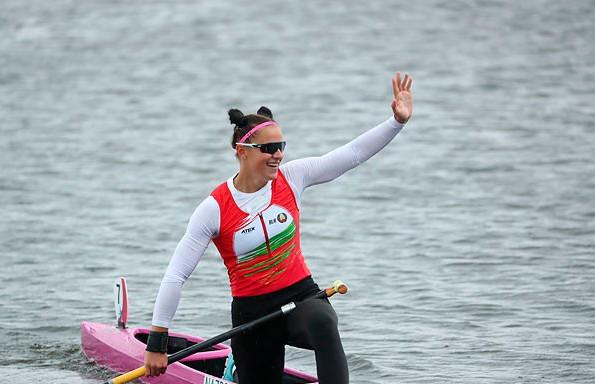 Елена Ноздрёва стала чемпионкой II Европейских игр в гребле на каноэ
