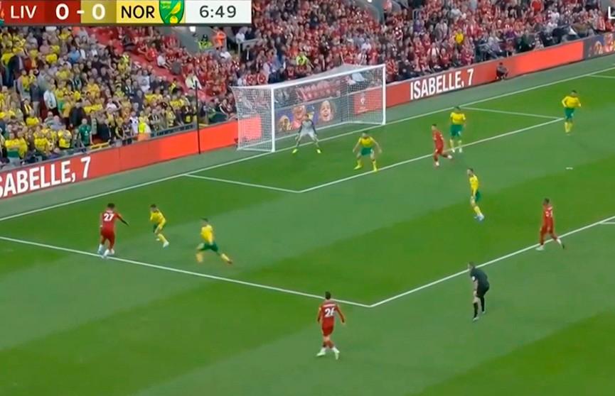 Футбольный сезон в Англии стартовал с победы «Ливерпуля» над «Норвичем»