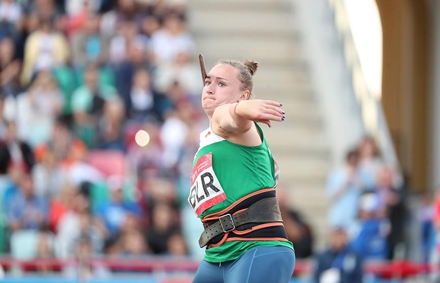Метательница копья Татьяна Холодович завоевала серебро на турнире в Швейцарии