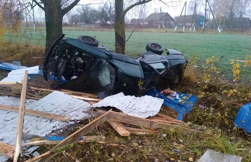 ДТП в Речицком районе: погиб водитель легкового автомобиля