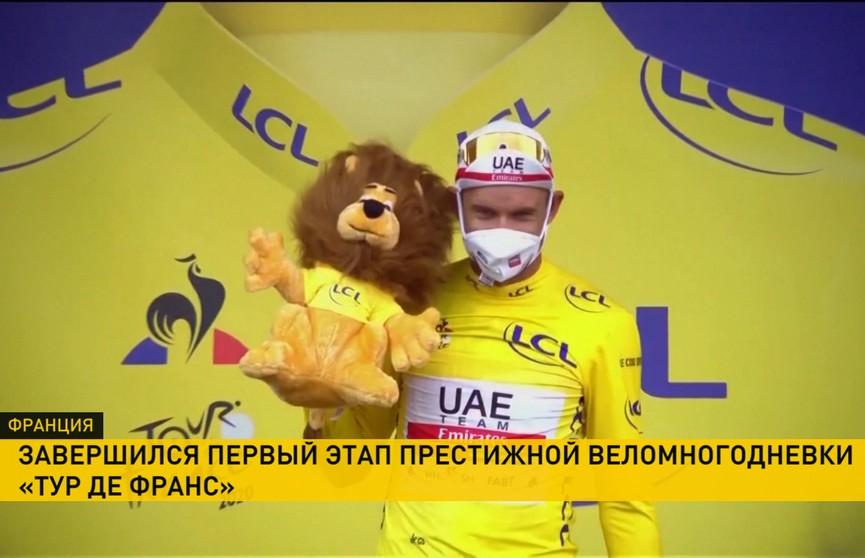 Норвежский велогонщик Александер Кристофф стал победителем первого этапа «Тур де Франс»