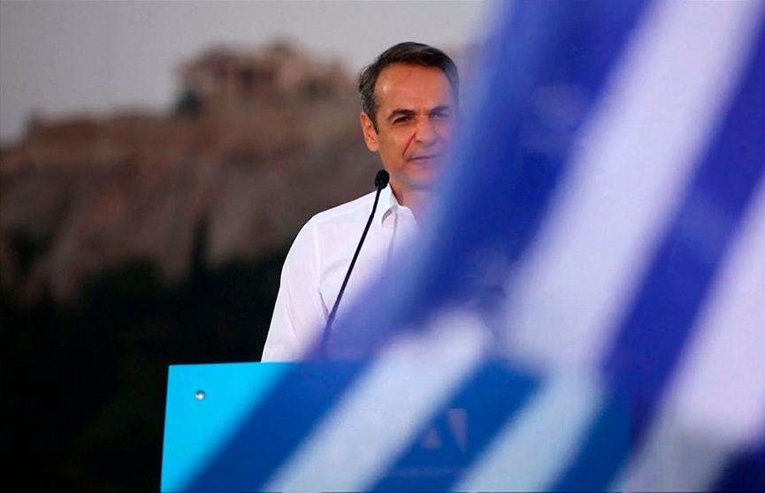 На досрочных парламентских выборах в Греции побеждает партия «Новая демократия»