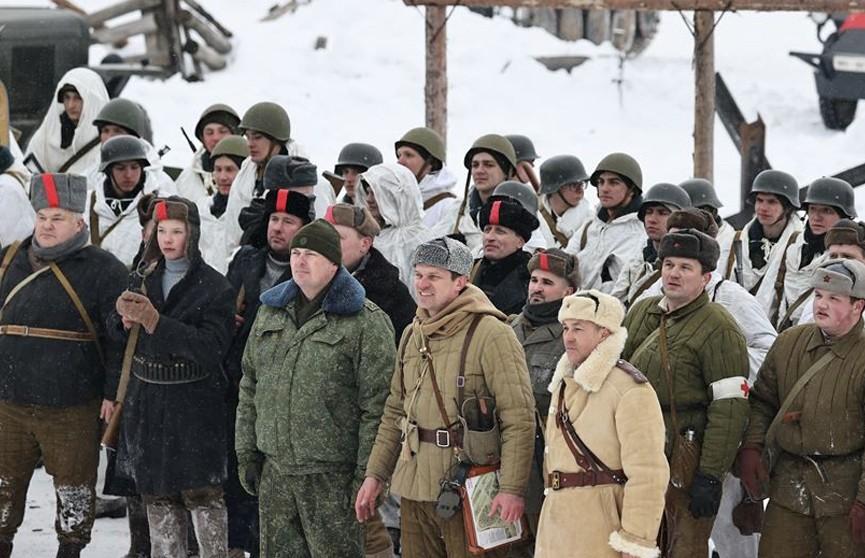 Участники автопробега «За единую Беларусь!» посетили «Линию Сталина»
