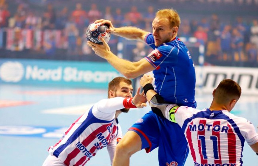 Гандболисты БГК имени Мешкова одержали первую победу в групповом раунде Лиги чемпионов