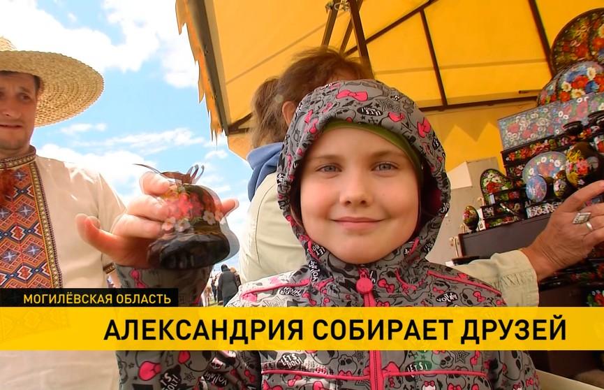Народные промыслы, национальная кухня и купальские забавы: «Александрия собрала друзей» в десятый раз!