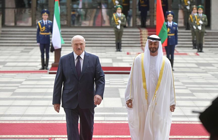 Лукашенко: «Закрытых сфер для отношений между Эмиратами и Беларусью нет»