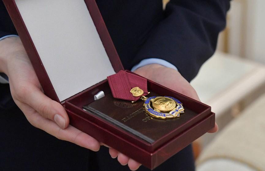 Александр Лукашенко вручил Йозефу Мигашу орден Франциска Скорины