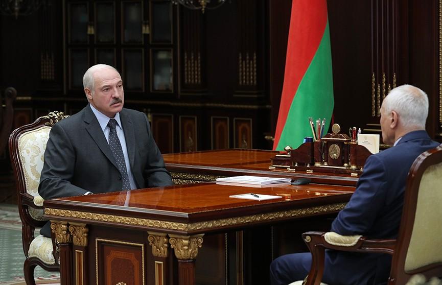 Александр Лукашенко встретился с Григорием Рапотой. Обсуждали стратегию интеграции Беларуси и России