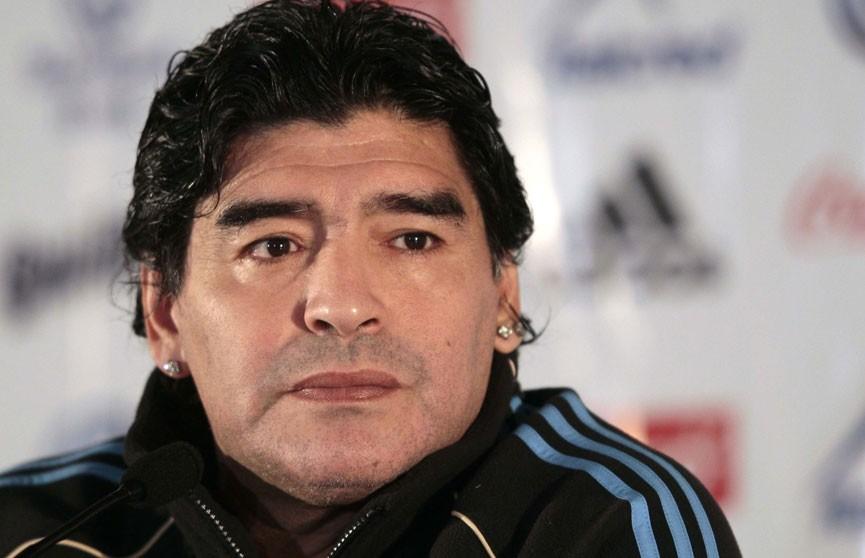 Диего Марадона стал техническим директором мексиканского клуба «Дорадос де Синалоа»
