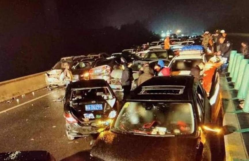 Несколько массовых ДТП произошло в Китае