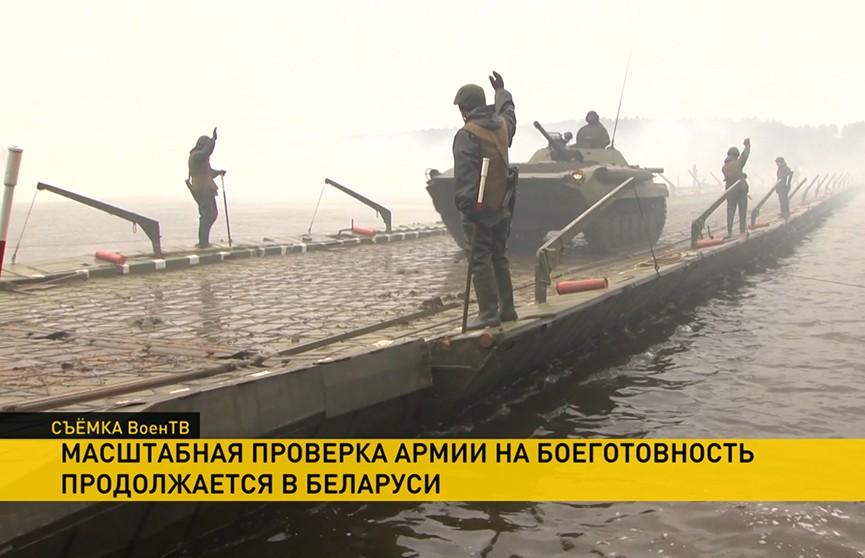 В Беларуси продолжается комплексная проверка Вооруженных Сил