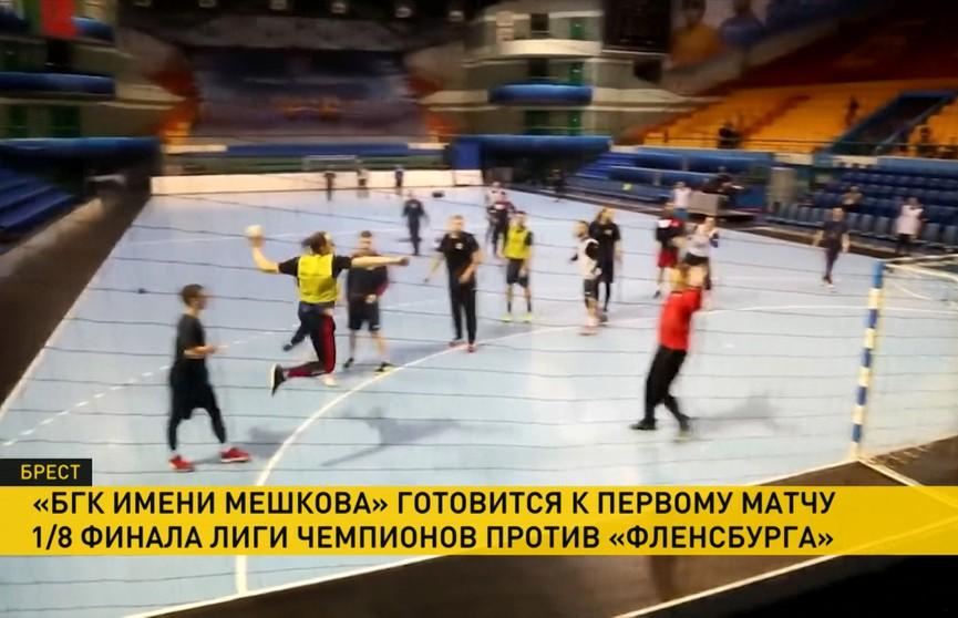 БГК имени Мешкова готовится к первому матчу 1/8 финала Лиги чемпионов против немецкого «Фленсбурга»