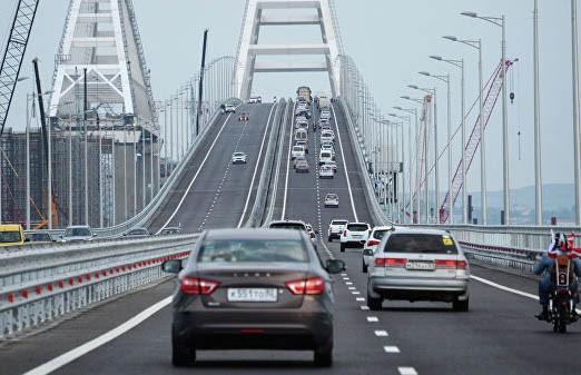 243 км/ч: рекордное превышение скорости установлено на Крымском мосту