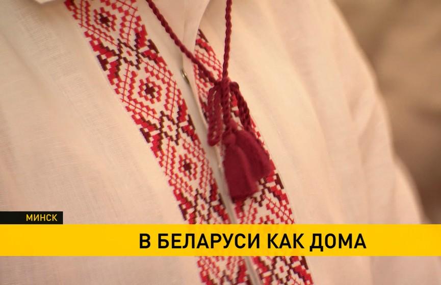 «В Беларуси как дома»: фестиваль вышиванки прошел в Минске