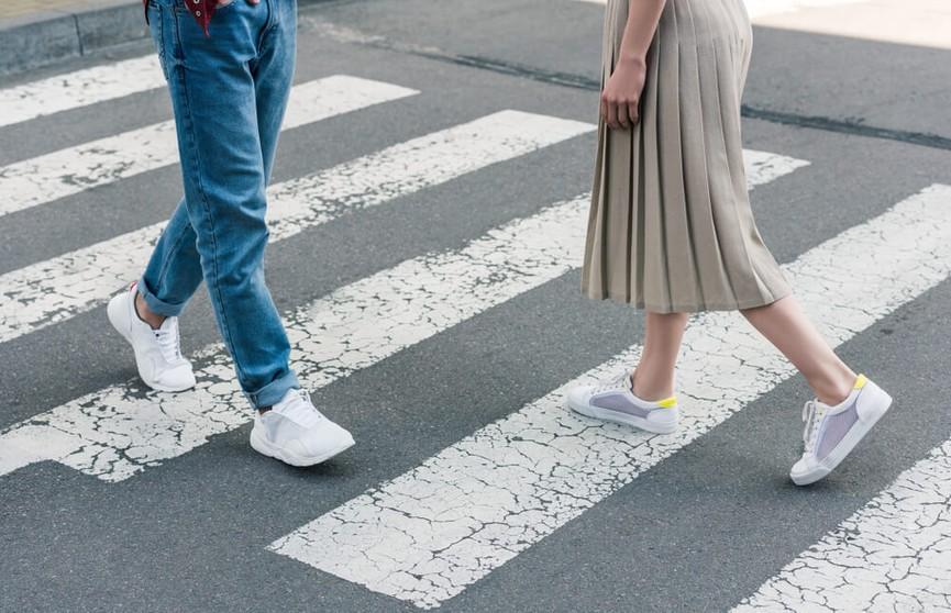 В Гомеле появился пешеходный переход в технике 3D. Как он выглядит (ФОТО)