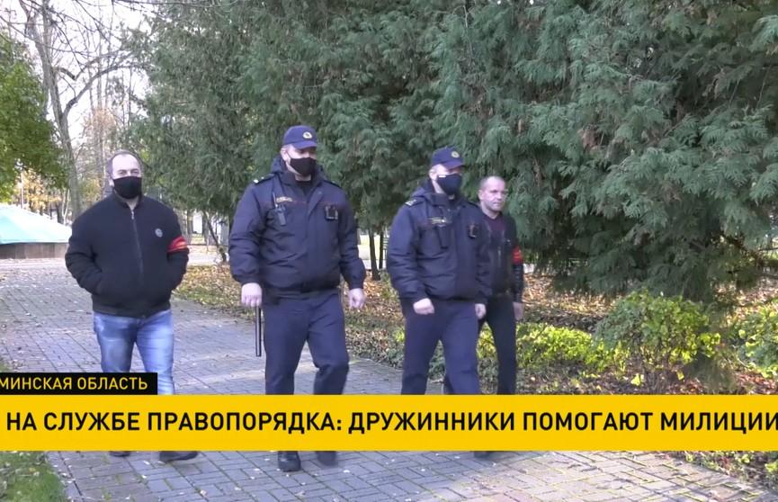 Почти 300 добровольных дружин помогают правоохранителям в Минской области