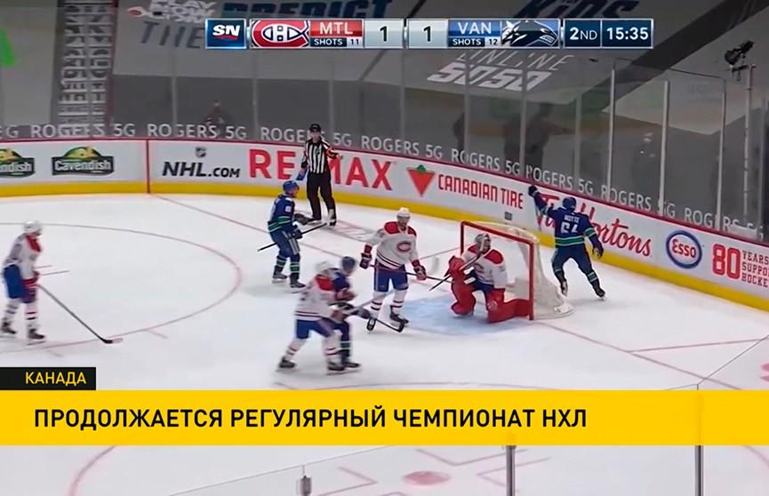 Пять матчей сыграны в регулярном чемпионате НХЛ