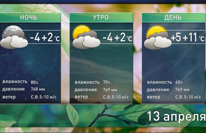 Прогноз погоды на выходные: без осадков, но с порывистым ветром