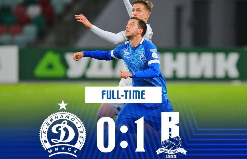 «Динамо-Минск» на своем поле уступило «Руху» в стартовом туре чемпионата Беларуси