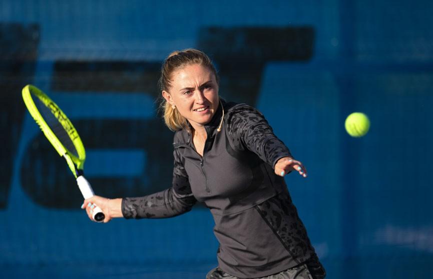 Александра Саснович вышла в 1/4-ю финала теннисного турнира в Белграде