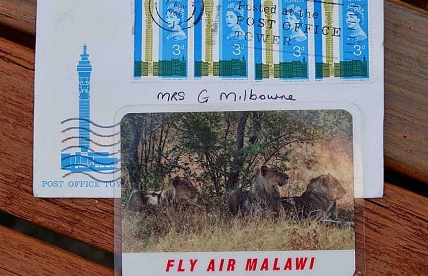 Британская почта 54 года везла письмо из Лондона