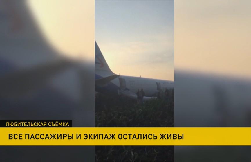 55 человек пострадали в результате аварийной посадки Airbus А321 в Подмосковье, погибших – нет