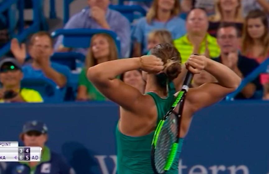 Арина Соболенко пробилась в полуфинал теннисного турнира в Цинциннати