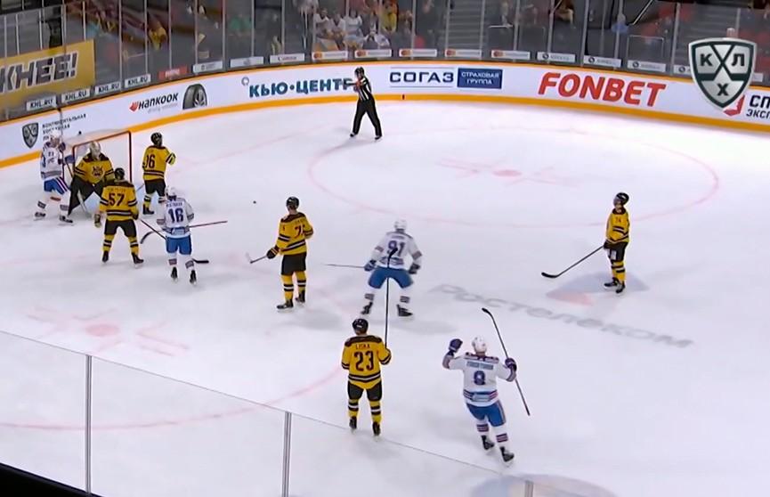 Хоккеисты СКА прервали пятиматчевую серию поражений в КХЛ