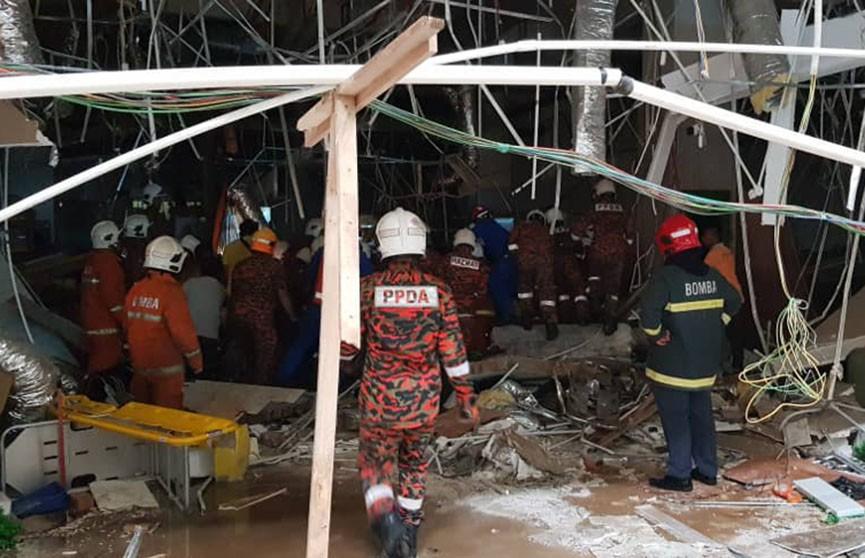 Взрыв в торговом центре в Малайзии: погибли три человека