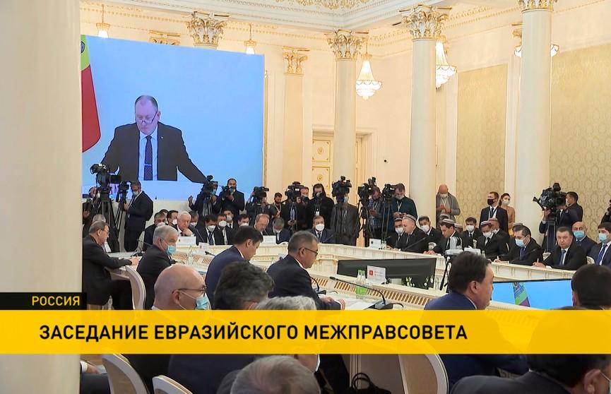 Снятие торговых барьеров, совместные проекты в космосе и логистике обсуждали на заседании межправсовета ЕАЭС в Казани
