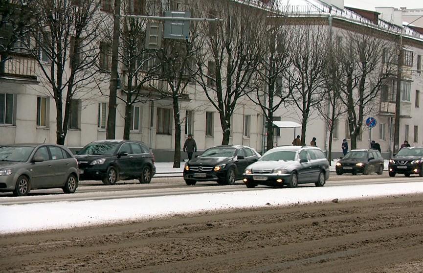 Мороз, снег и гололедицу прогнозируют синоптики в Беларуси