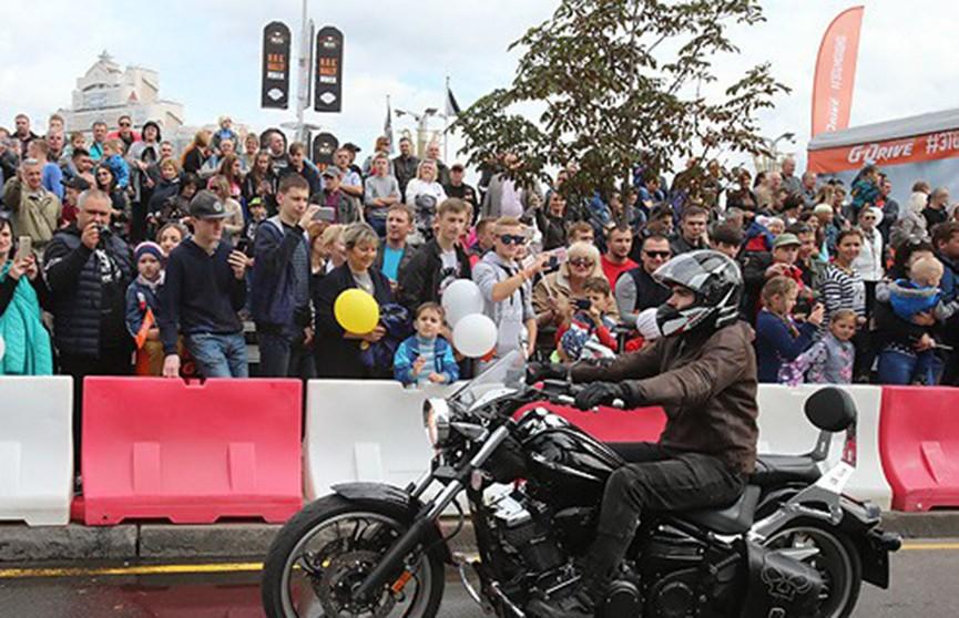Автолюбителям: участок проспекта Победителей перекроют 15 сентября в связи с фестивалем H.O.G. Rally Minsk 2018