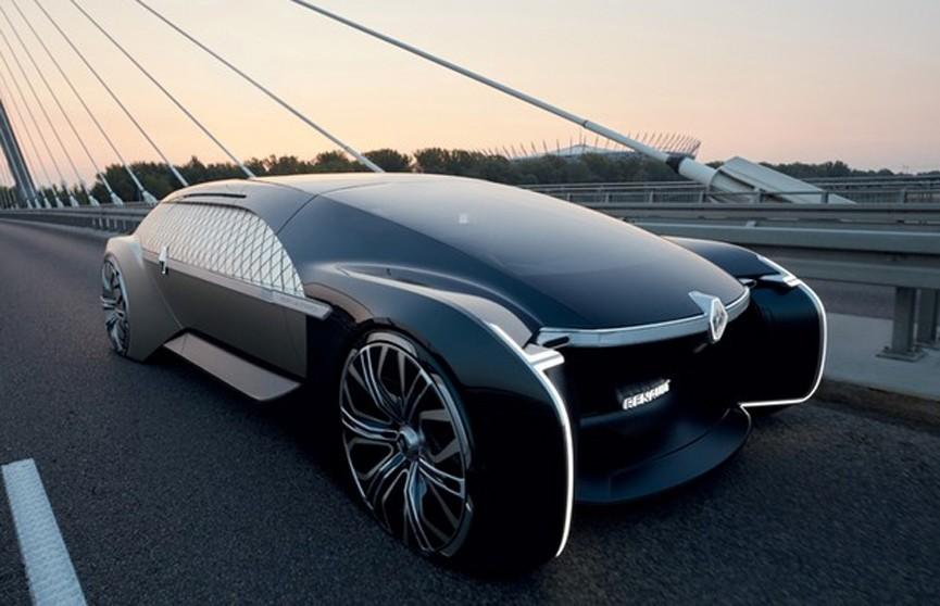 Лимузин будущего от Renault: электрокар с автопилотом и 5G-интернетом