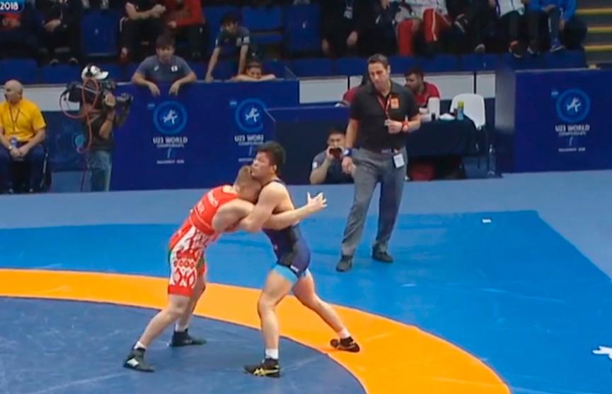 Белорусский борец греко-римского стиля Никита Климович завоевал бронзовую награду молодёжного чемпионата мира в Румынии
