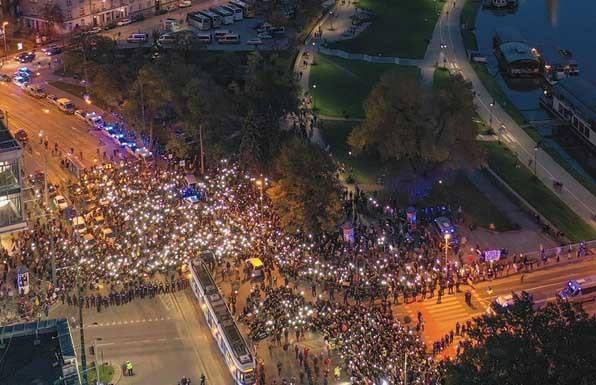 Протестующие заблокировали дороги в полсотне польских городов