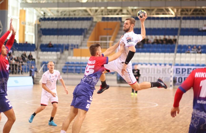 Чемпионат Беларуси по гандболу: БГК имени Мешкова обыграл СКА